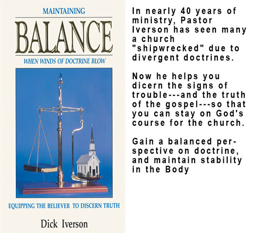 Maintaining Balance When Winds Of Doctrine Blow