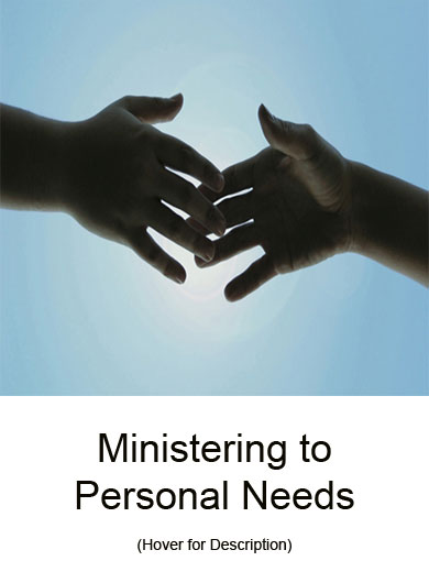 Ministering_to_Personal Needs